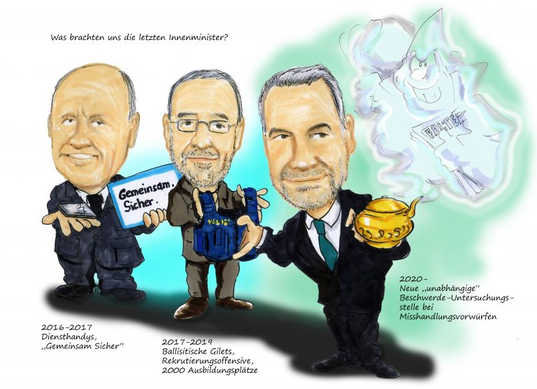 Karikatur-2020 Drei Innenminister